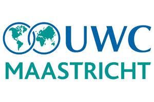 Logo van UWC Maastricht