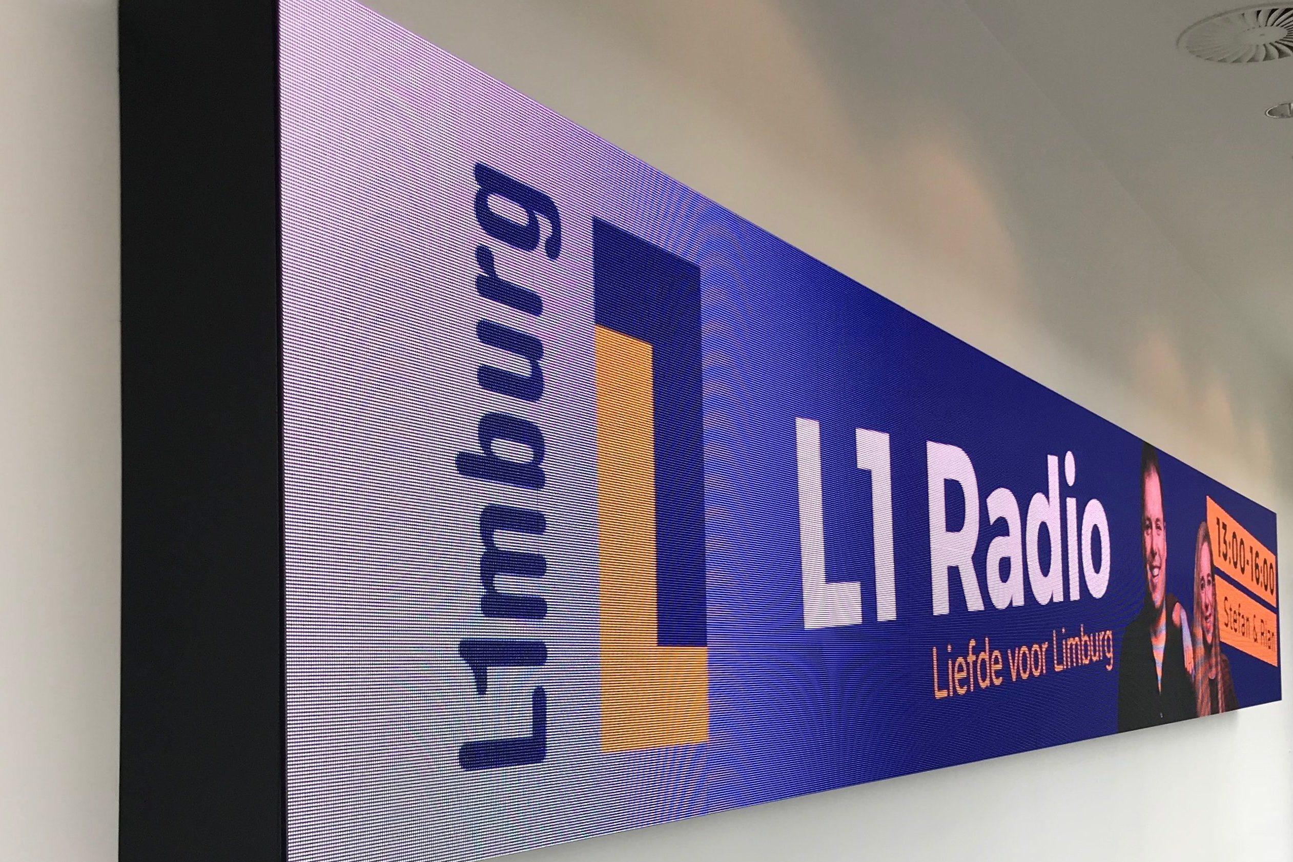 L1 led wall - Media Service Maastricht
