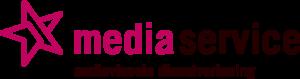 Logo in kleur van Mediaservice Maastricht