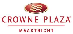 Logo van het Crowne Plaza hotel in Maastricht