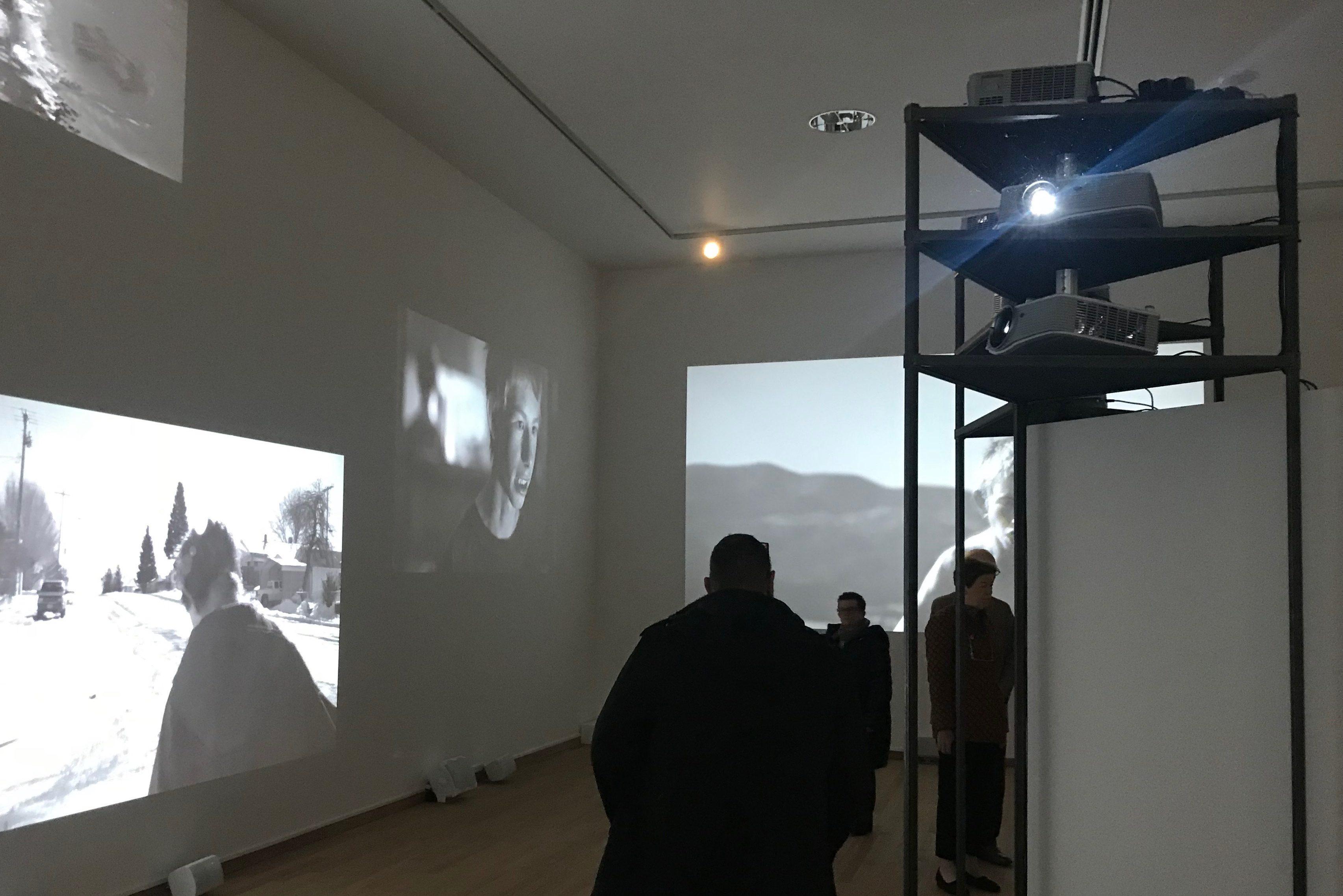 Ledwall in Bonnefantenmuseum