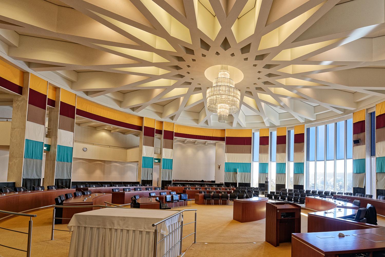 Raadzaal van het provinciehuis Limburg