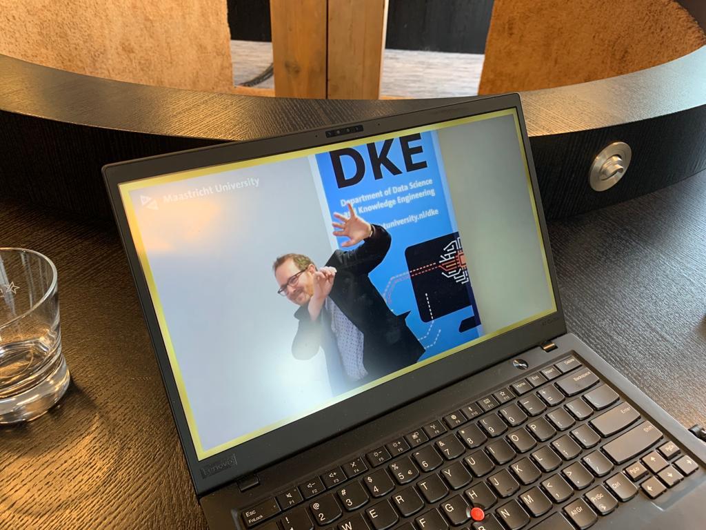Online diploma-uitreiking DKE Maastricht University