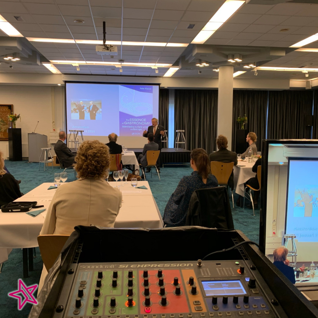 Hotel Management School Maastricht livestream afscheid smaakprofessor Klosse