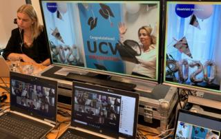 Livestream diploma-uitreiking Maastricht University Campus Venlo