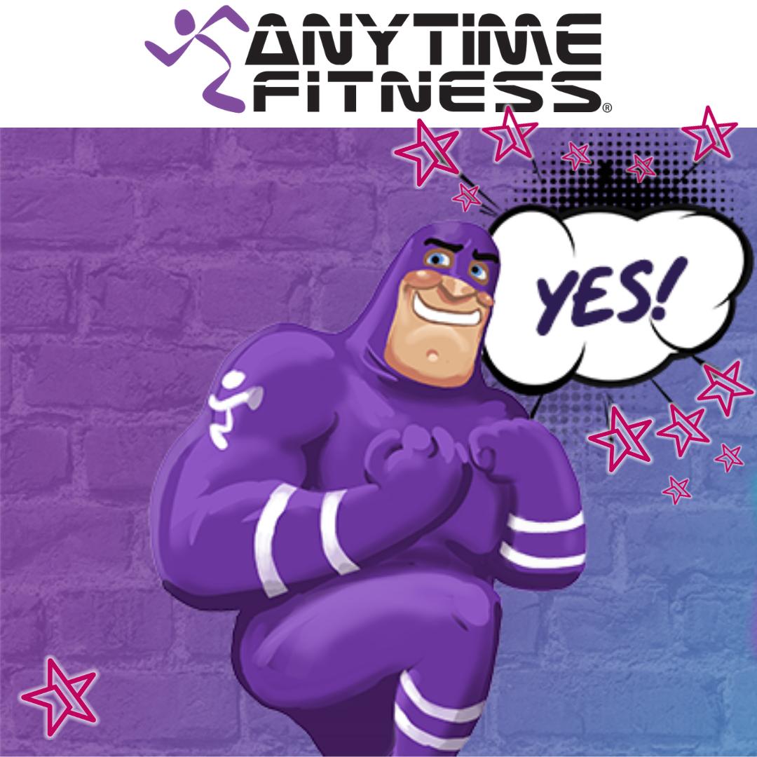Media Service voorkeursleverancier Anytime Fitness