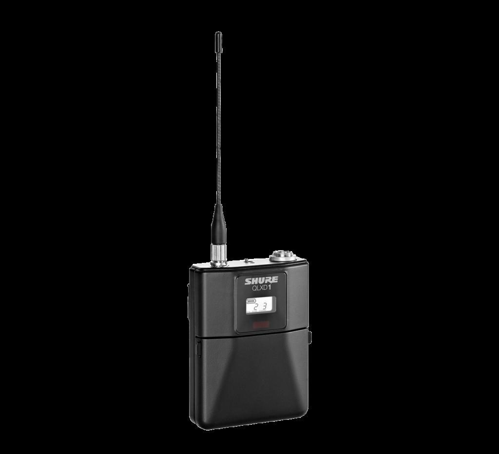 bodypack transmitter shure - media service