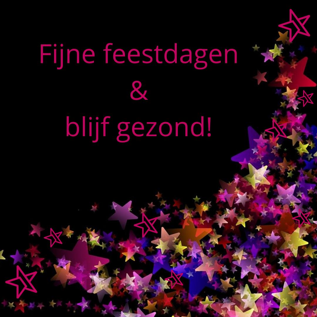 Fijne feestdagen & blijf gezond! - Media Service