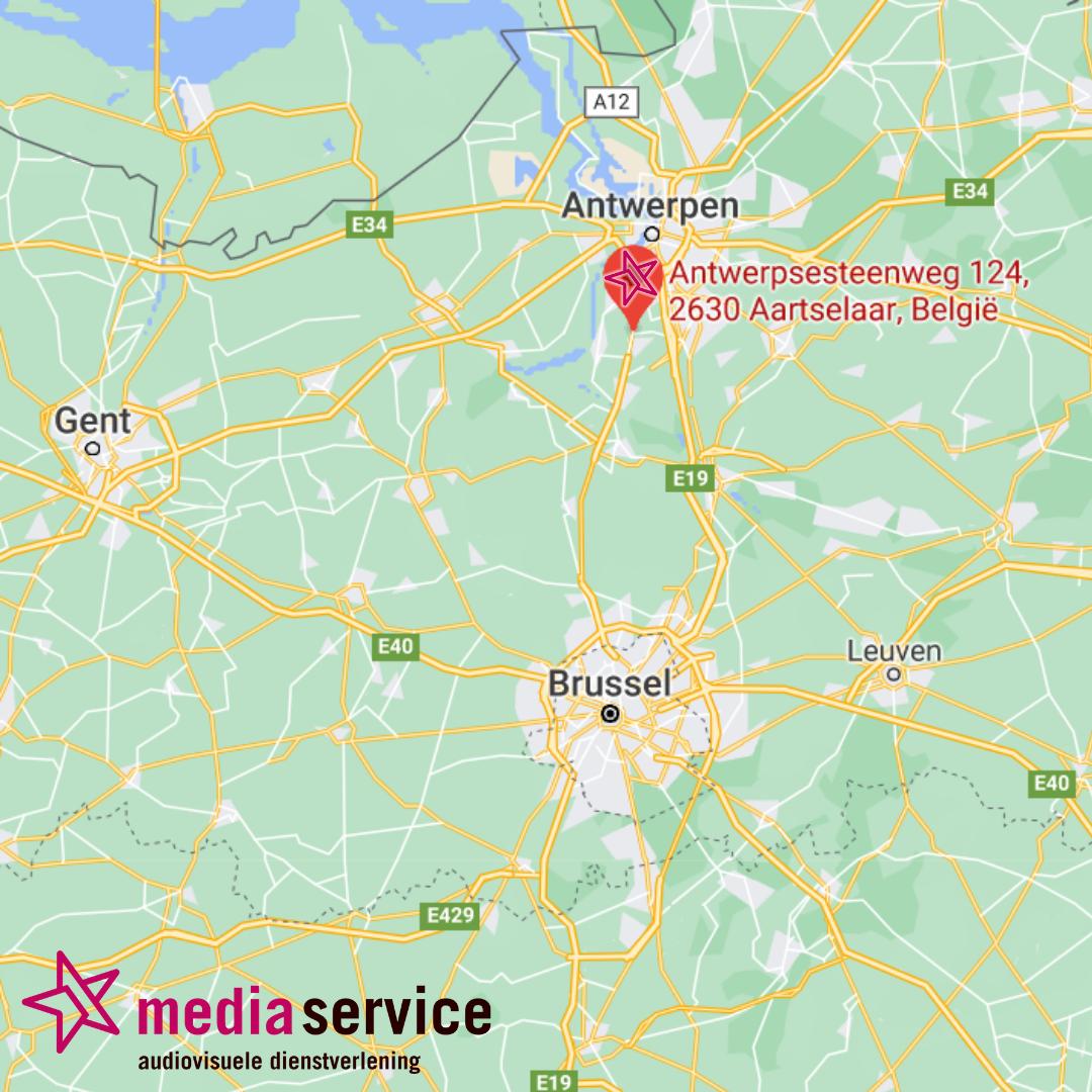 Media Service Belgie - vestiging Antwerpen
