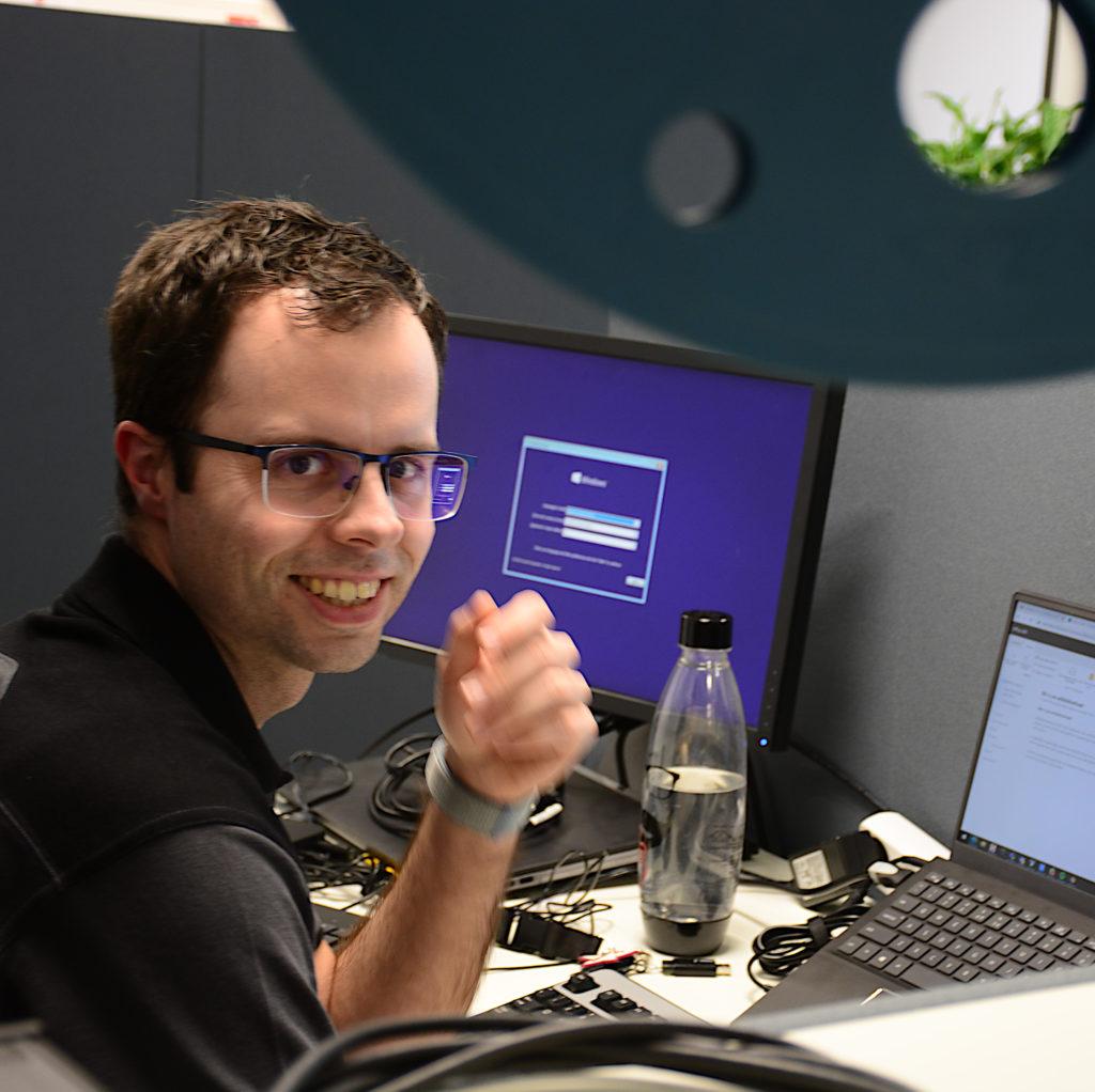 Seneddy Fritschy (ICT-Engineer)