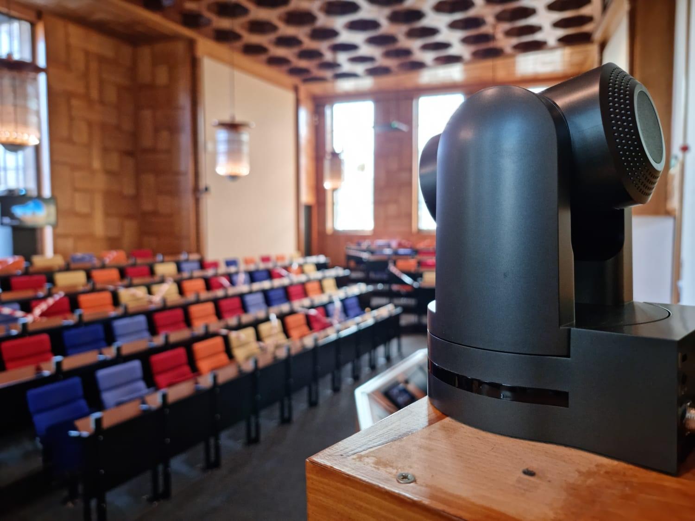 Maastricht University - Statenzaal - Cameravolgsysteem - Media Service Maastricht