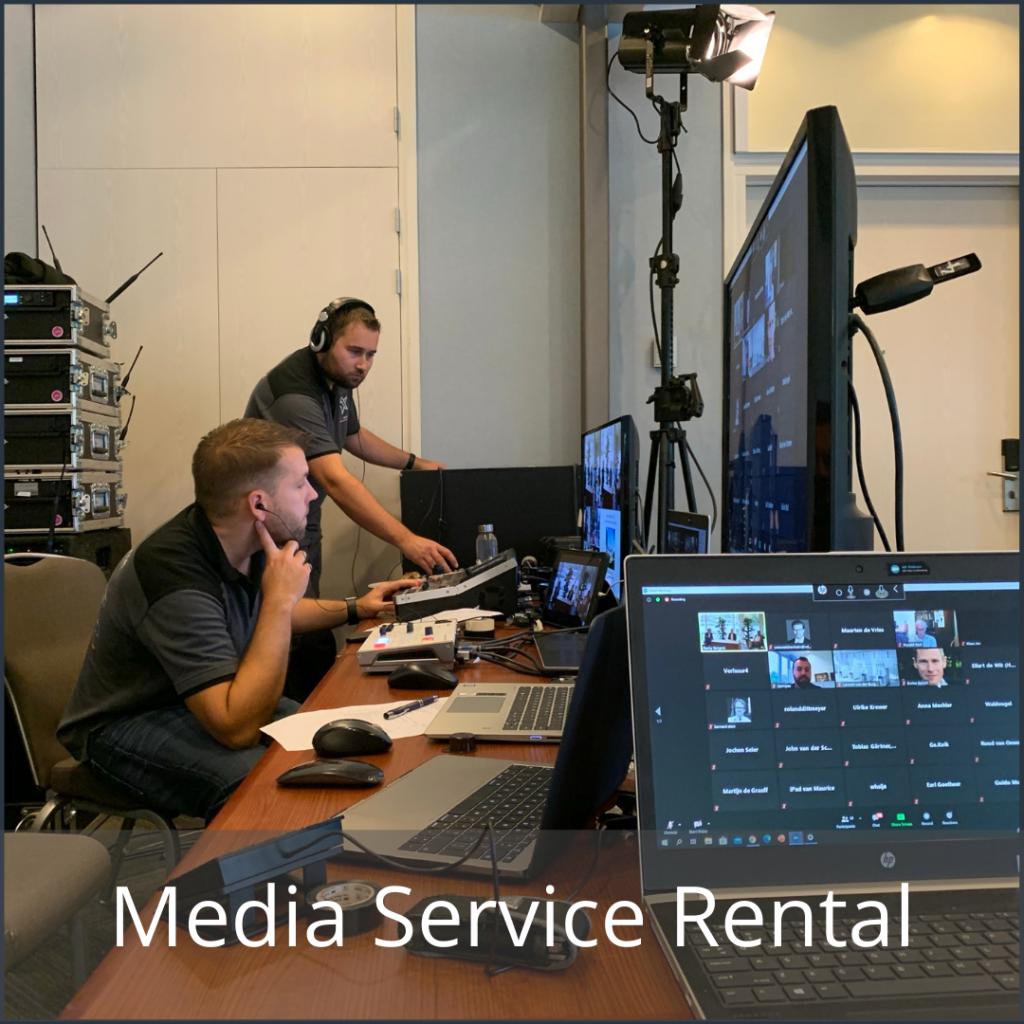 Videoconferencing Media Service Rental
