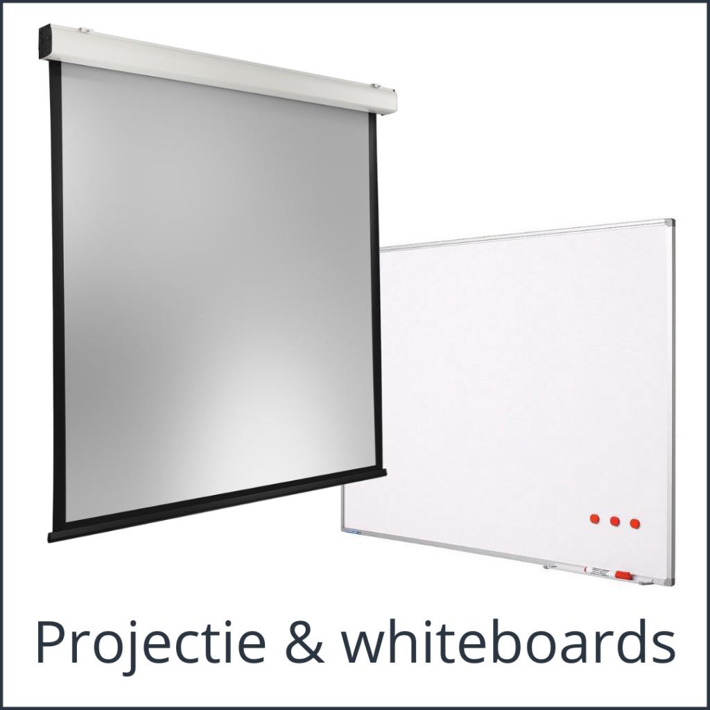 Projectie en whiteboards - Media Service
