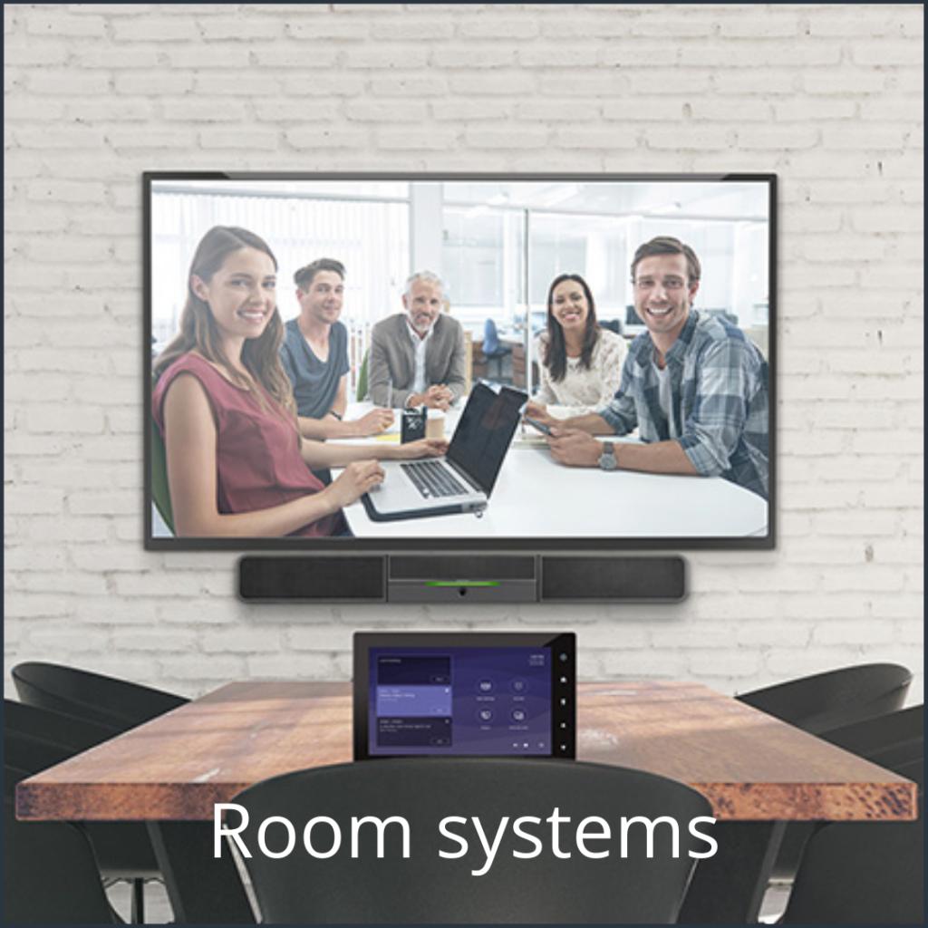 Videoconferencing room systems - Media Service